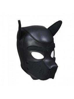 Cagoule puppy en néoprène taille S/M noir profil droit