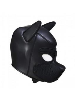 Cagoule puppy en néoprène taille S/M noir côté droit