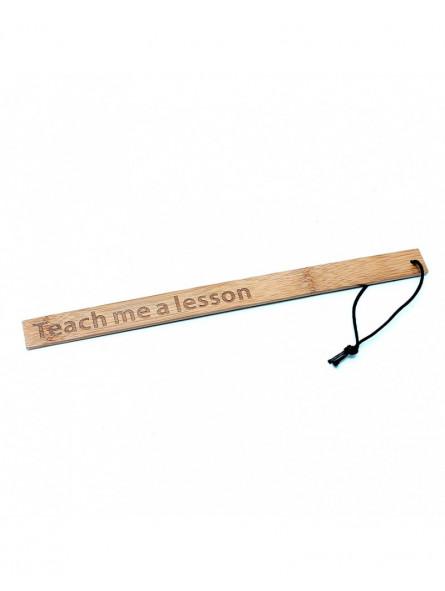 Règle en bambou Teach Me a Lesson Rimba - 40 cm