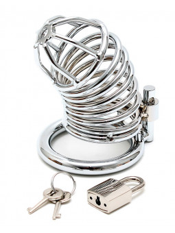 Cage de chasteté en métal avec cadenas Produit