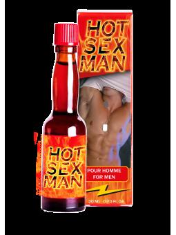 Complément alimentaire stimulant pour homme Ruf Hot Sex Man - 20 ml