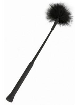 Kit cravache noir plume