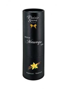 Huile de massage vanille de Plaisir Secret