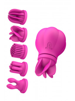 stimulateur clitoris Caress - 5 têtes
