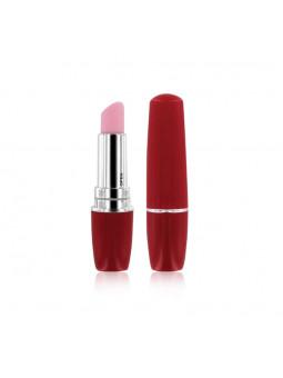 Kit d'amour Rianne S - vibromasseur rouge à lèvre rouge
