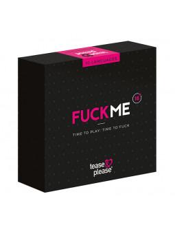 Jeu coquin FUCKME Tease & Please packaging