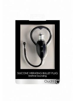 Sonde vibrante en silicone Bullet Plug Ouch! packaging