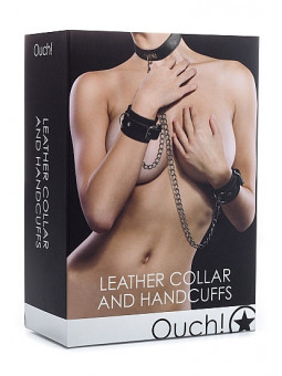 Kit menottes et collier Ouch! PACKAGING