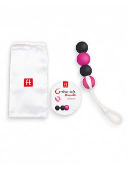 Boules de geisha magnétique packaging